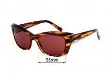 Sunglass Fix Replacement Lenses for Childe Mod - 55mm wide