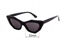 Sunglass Fix Replacement Lenses for Childe Mookhi - 52mm wide
