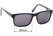 Sunglass Fix Replacement Lenses for Country Road Specsavers CR SunRx 12 - 56mm Wide