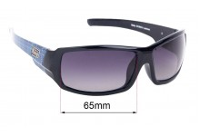 Dirty Dog Bubby Replacement Sunglass Lenses - 65mm Wide