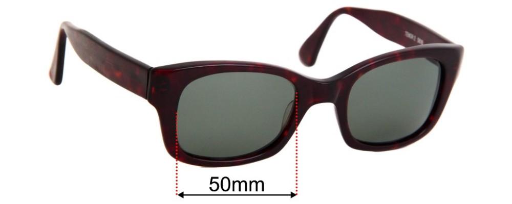 Francois Pinton Tenor 2 D619 Replacement Sunglass Lenses - 50mm Wide
