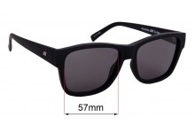 Le Specs The Force Replacement Sunglass Lenses - 57mm wide