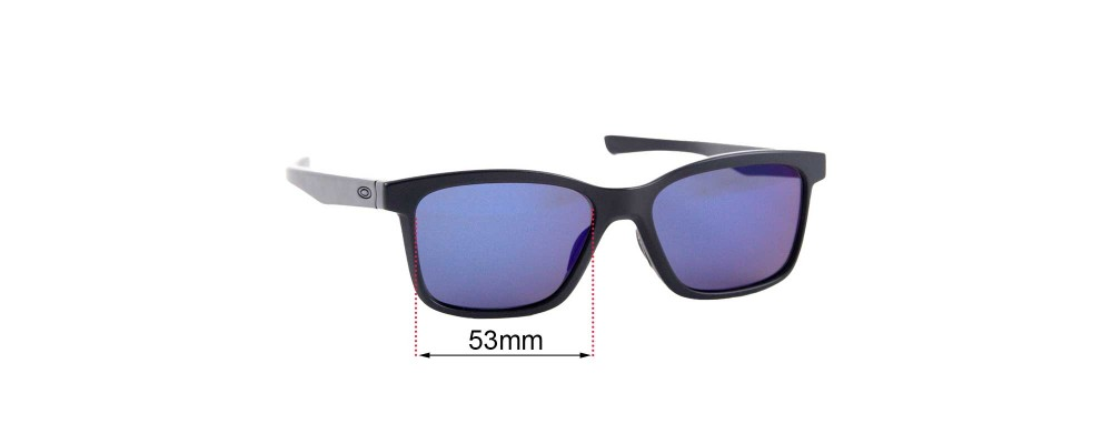 Oakley Fenceline OX8069 Replacement Sunglass Lenses - 53mm wide