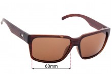 Otis The Double Replacement Sunglass Lenses - 60mm wide