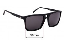 Sunglass Fix Replacement Lenses for Quiksilver Brigade - 56mm Wide