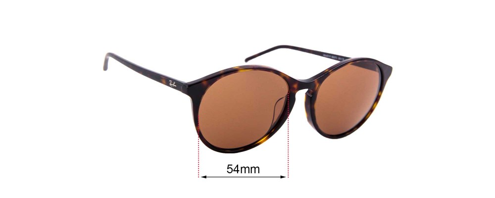 Sunglass Fix Replacement Lenses for Ray Ban RB4371F - 55mm Wide