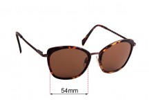 Specsavers  Step Back In Time Sun Rx Replacement Lenses - 54mm