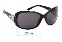 Spotters Sophia Replacement Sunglass Lenses - 62mm wide