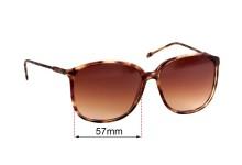 Versace MOD 4220 Replacement Sunglass Lenses - 57mm Wide