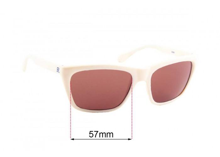 SFX Replacement Sunglass Lenses fits Vuarnet Pouilloux VL0113R011 64mm Wide