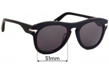 G-Star Raw Fat Garber Replacement Lenses 51mm