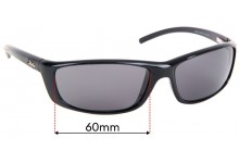 Sunglass Fix Replacement Lenses for Hobie Cabo - 64mm Wide