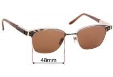 Leisure Society Stanford Replacement Sunglass Lenses - 48mm Wide