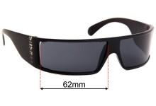 Versus MOD-EW1 Replacement Sunglass Lenses - 65mm Wide