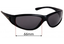 Zenith No Limits Replacement Sunglass Lenses - 66mm wide