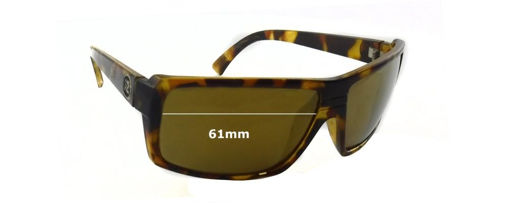 SFX Replacement Sunglass Lenses fits Von Zipper Snark 61 mm
