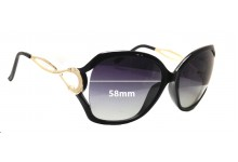 Sunglass Fix New Replacement Lenses for Forever Young 0402 - 58mm Wide
