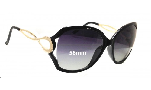 Forever Young 0402 Replacement Sunglass Lenses 58mm Wide