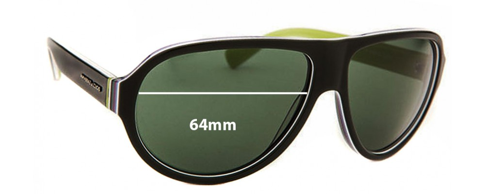 Dolce & Gabbana DG4204 Replacement Sunglass Lenses - 64mm wide