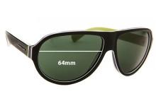 Dolce & Gabbana DG4204 Replacement Sunglass Lenses - 64mm wide