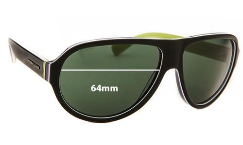 Dolce & Gabbana DG4204 New Sunglass Lenses - 64mm wide