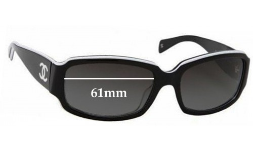 Chanel 5064-B Replacement Sunglass Lenses - 61mm wide