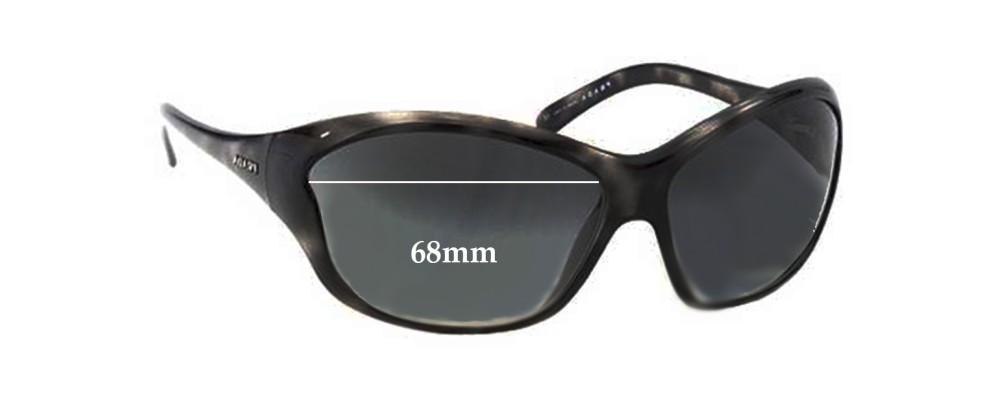 Prada SPR25G Replacement Sunglass Lenses - 68mm Wide