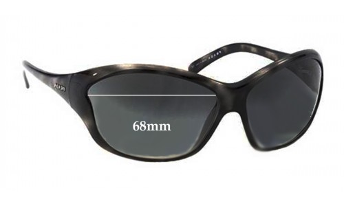 Prada SPR25G Replacement Sunglass Lenses - 68mm Wide