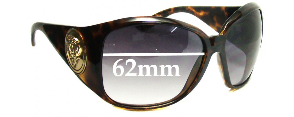 Gucci GG3027S Replacement Sunglass Lenses - 62mm Wide