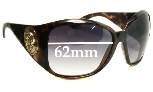 Gucci GG3027S New Sunglass Lenses - 62mm Wide