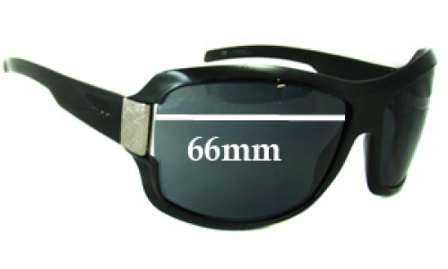 Gucci GG1510 Replacement Sunglass Lenses - 66mm wide