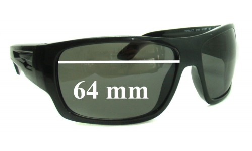 Arnette Derelict AN4149 Replacement Sunglass Lenses - 64mm wide