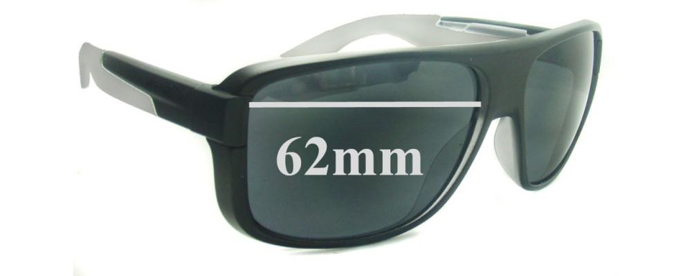 Arnette Glory Daze AN4161 Replacement Sunglass Lenses - 62mm wide