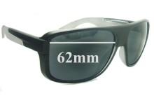 Sunglass Fix New Replacement Lenses for Arnette Glory Daze AN4161 - 62mm Wide