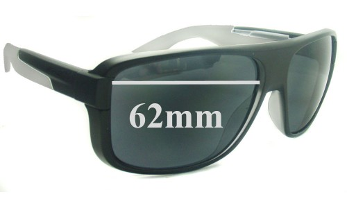 Sunglass Fix Replacement Lenses for Arnette Glory Daze AN4161 - 62mm wide