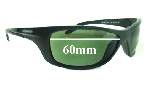 Sunglass Fix Replacement Lenses for Arnette Swing Plate AN4160 - 60mm wide
