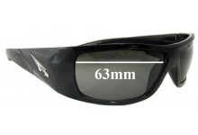 Arnette AN4113 The Score Replacement Sunglass Lenses 63mm wide