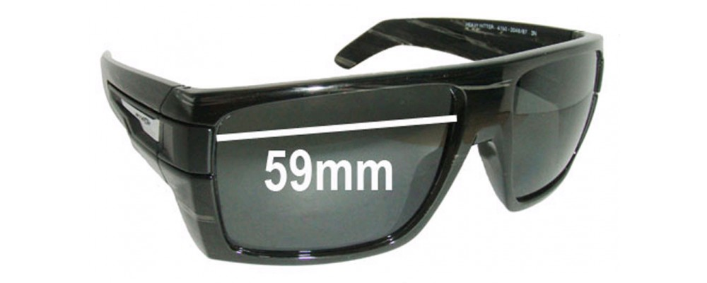 Arnette Heavy Hitter AN4150 Replacement Sunglass Lenses - Lens Width 59mm