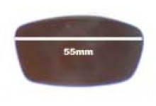 Arnette Swinger AN225 Replacement Sunglass Lenses - 55mm wide