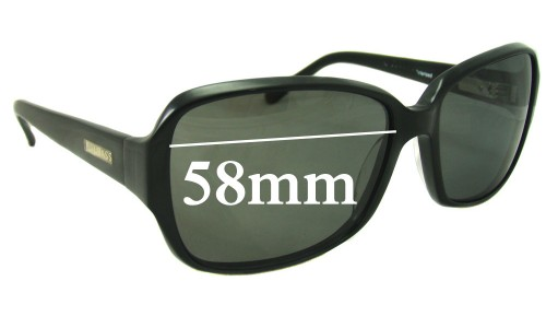 Bill Bass Jessie Replacement Sunglass Lenses - 58mm wide