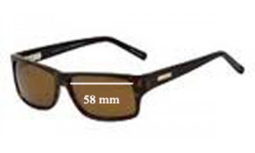 Bill Bass Babbage Replacement Sunglass Lenses - 58mm wide
