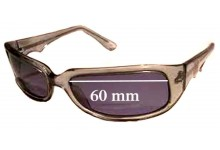 Black Flys Mach-2 New Sunglass Lenses - 60mm wide