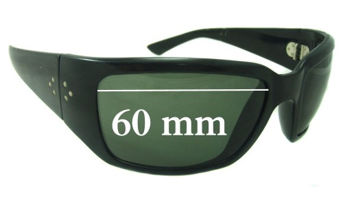 Blinde Unknown Replacement Sunglass Lenses - 60mm wide