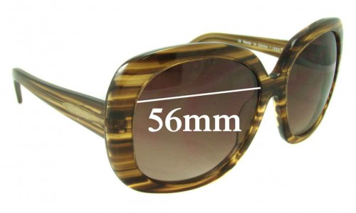 Boden Classic Replacement Sunglass Lenses - 56mm Wide