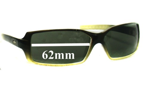 Bolle Dirty 8 Glamrock Replacement Sunglass Lenses - 62mm wide