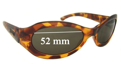 Bolle Unknown Replacement Sunglass Lenses - 52mm wide