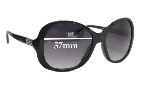 Bvlgari 8068 Replacement Sunglass Lenses 57mm wide