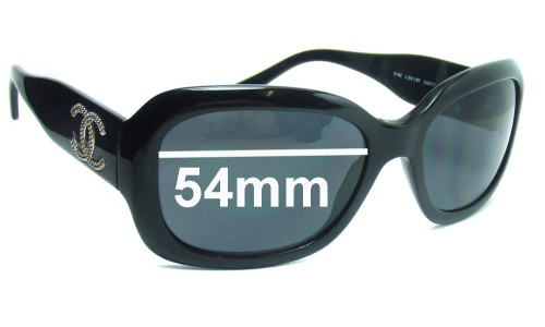 CHANEL 5102 Replacement Sunglass Lenses - 54mm wide