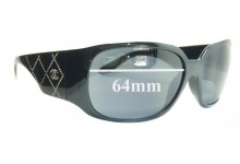 Chanel 5080 Replacement Sunglass Lenses - 64mm wide