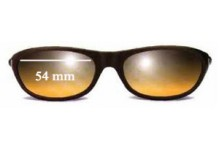 Sunglass Fix New Replacement Lenses for Calvin Klein CK3014 - 54mm Wide